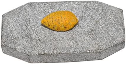 NATURE LAND Turmeric and Sandal Wood Rubbing Stone
