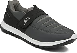 Asian shoes Superfit Black Gry Men Sports Shoes