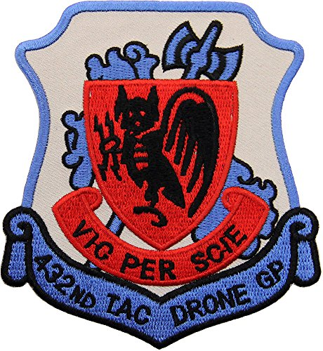 432nd Tactical Drone Group Patch Full Color