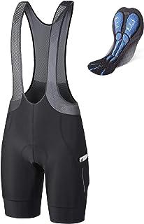 BALEAF Men's Cycling Bib Shorts 4D Padded Road Bike Shorts Biking Tights Pockets Breathable UPF50+