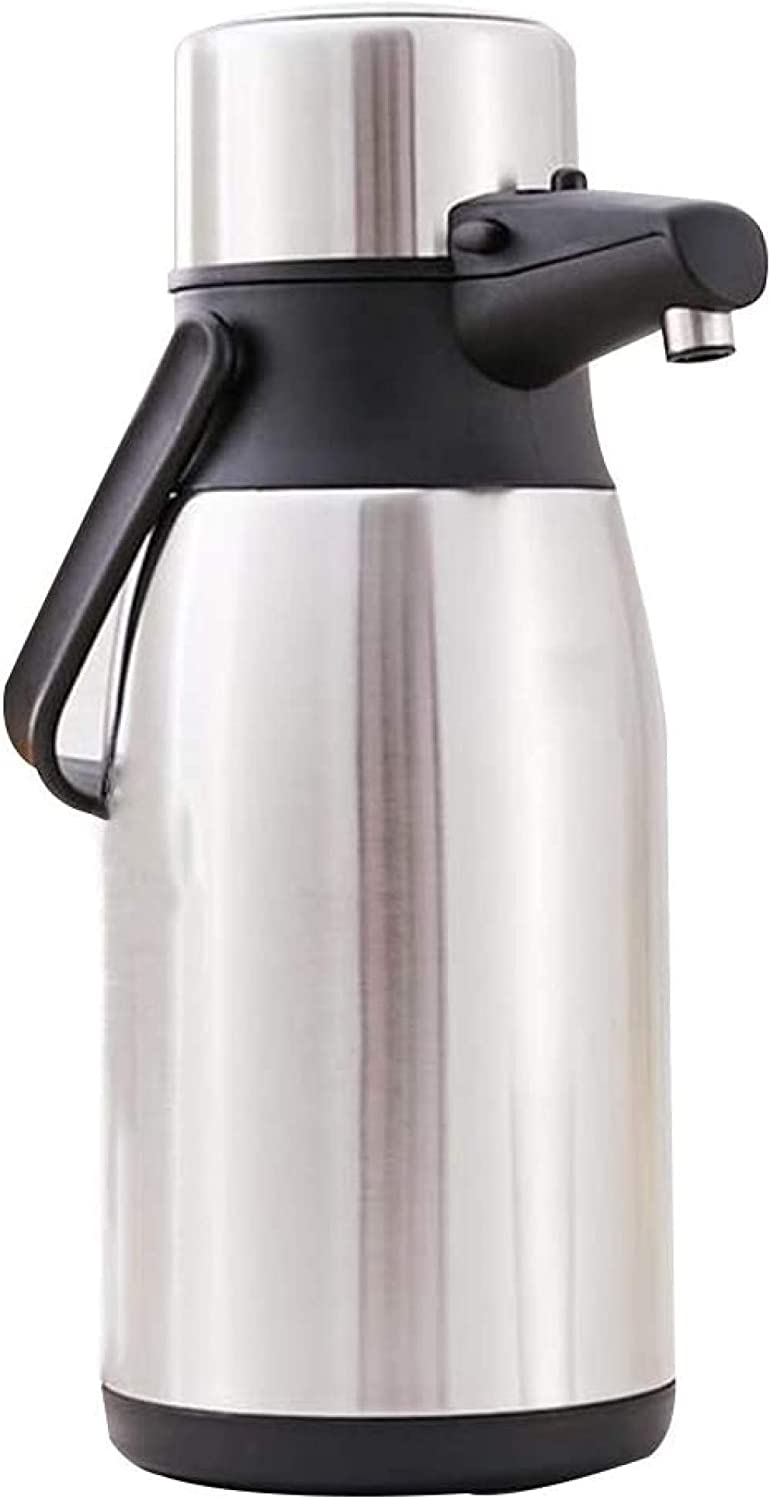 Jajayang Airpot 70% OFF Outlet with Pumping Mechanism jug Therm Vacuum Pump New Free Shipping