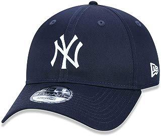 BONE 920 NEW YORK YANKEES MLB ABA CURVA STRAPBACK MARINHO NEW ERA