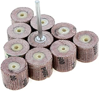 5-Pack Grit-100 Shark 13112    1.5-Inch by 0.5-Inch Grinding Flap Wheel