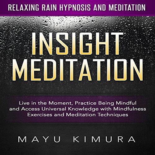 Insight Meditation audiobook cover art