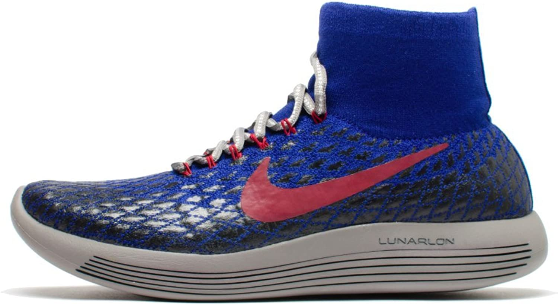 Nike Woherrar Gyakusou Lunrepic Flyic Shield springaning skor (7.5, Deep Deep Deep Royal blå  vit -svart)  officiellt godkännande