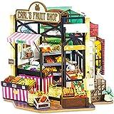 Rolife DIY Casas de Muñecas Miniaturas Madera para Montar Miniature House Maquetas para Construir Adultos Niñas y Niños 14 Años de Edad hasta, Carl's Fruit Shop