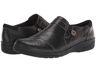 Clarks Cheyn Crystal (Black Leather) Women