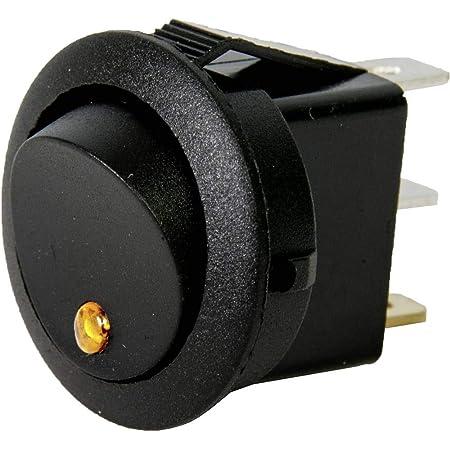Hp Autozubehör 28632 Led Wippschalter Mini Gelb Auto