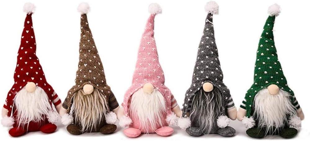 JJZXD 5PS Elegant Big Christmas Doll Decoration Year San Antonio Mall Tree New