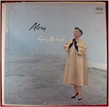 JUDY GARLAND ALONE vinyl record