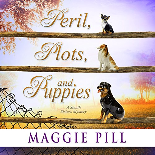 Peril, Plots, and Puppies audiobook cover art