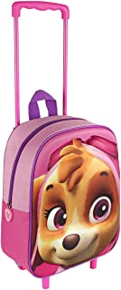 Paw Patrol 2100001607 Skye Travel Trolley with 31 cm 3D Junior Backpack