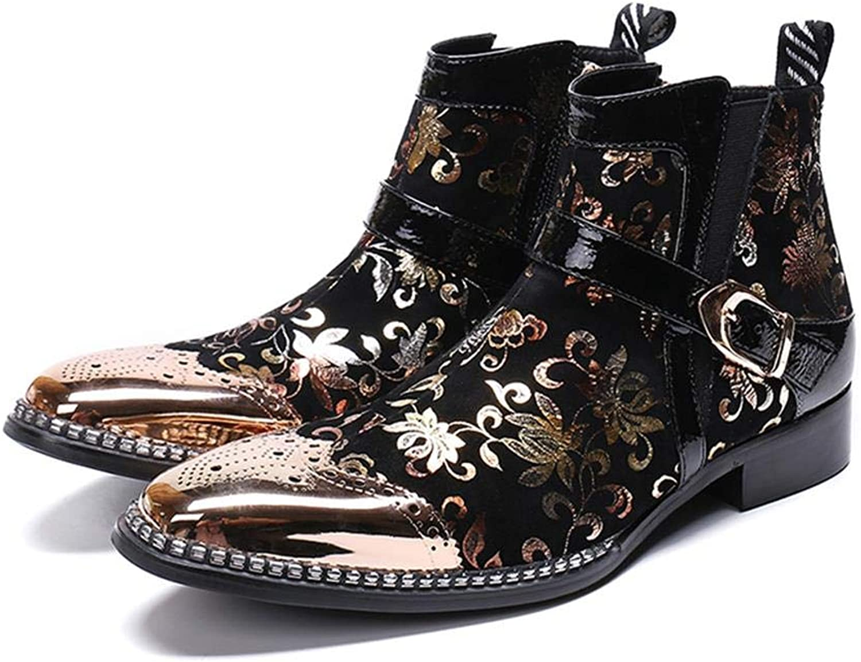 Mr.Zhang's Art Art Art Home Men's shoes Stiefeletten-Winterweinleseschwarz-Männer B07MMSL2DH  d301ba