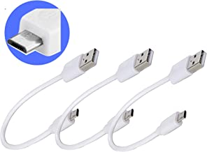 [3pack][6-inches] Micro USB Charger Cables for Android Devices