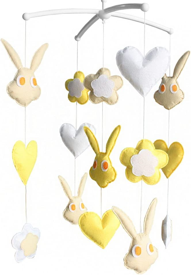 Baby Crib Bell Handmade Ranking TOP3 overseas Musical Gift Shower Mobile Nursery