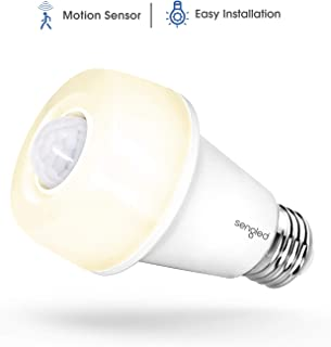 Sengled SSA60ND827 Smartsense LED Bulb, Motion Sensor Light Bulb, Sensor Detector Mode/Always-On Mode, Omnidirectional, 9....