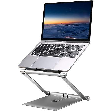 plegable para hasta 15,6 pulgadas con ventilaci/ón Soporte de aluminio ajustable para ordenador port/átil o tableta Lapdesk con bolsa de almacenamiento