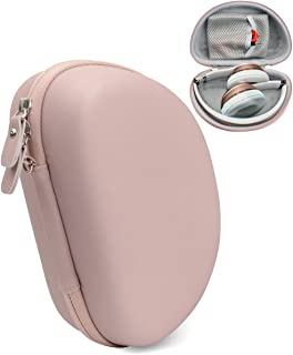 On-Ear Headphone Case for Beats Solo3, Solo2 Wired, Solo HD Wired, Mkay Wireless, Esonstyle, Riwbox XBT-80, iJoy, Edifier W820BT, Sonixx BTX1, Shape & Color Matching, Matte Rose Gold