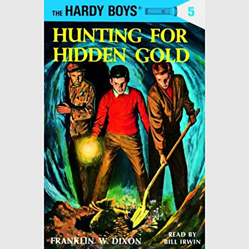Hunting for Hidden Gold audiobook cover art