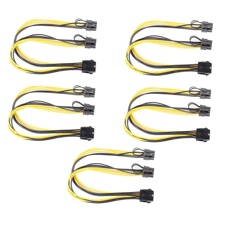 敬なマーケティングしたい電源ケーブル、vanpowerグラフィックスビデオカードダブル5点8ピンto PCI - E 8ピン(6ピン+ 2ピン) 電源ケーブル