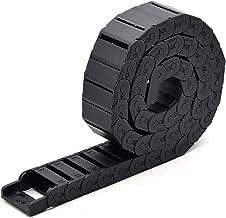 Kabel Sleepketting Kabel ketting semi-ingesloten 15 * 20 30 40 50 mm draad transmissie carrier plastic drag towline voor 3...