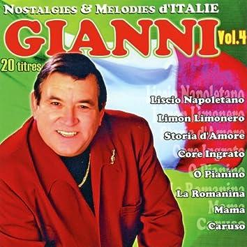 Nostalgies Et Mélodies d'Italie Vol. 4