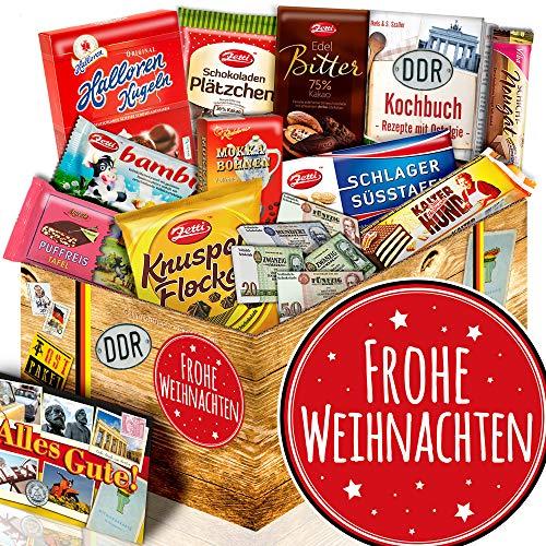 Frohe Weihnachten + DDR Paket Schokolade + Weihnachtsgeschenkidee für Mama