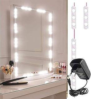 VEEKAYLIGHT Vanity Make-up DIY 60LEDs Dressing Mirror Light Lamp Kit, 10 ft , White