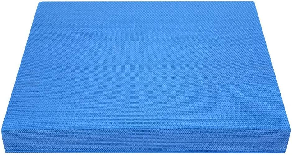 Exercise Fitness Mat Blue S//L Balanced Cushions Simlug Soft Yoga Pad for Waist Abdomen Knees