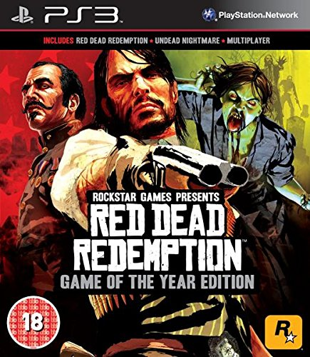 Red Dead Redemption : Game Of The Year Ps3- Playstation 3