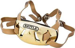 Battle Sports Science Battle 镀铬成人橄榄球绑带(27AC0000XX-成人) 金色 可调节