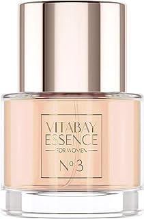 Vitabay Essence No. 3 para mujeres - agua de perfume floral con 10% de aceite de perfume - 50 ml
