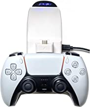 $23 » PS5 Controller Charger Dualsense Charging Station, Dual Charger with USB Cable Compatible with PS5 Dualsense Wireless Cont...