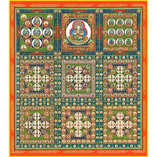 cocobitplus Mandala 2 Geschenke Shikishi Papier 2 Set