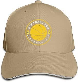 San Francisco City Of Splash Adjustable Snapback Caps Unisex Sandwich Hats