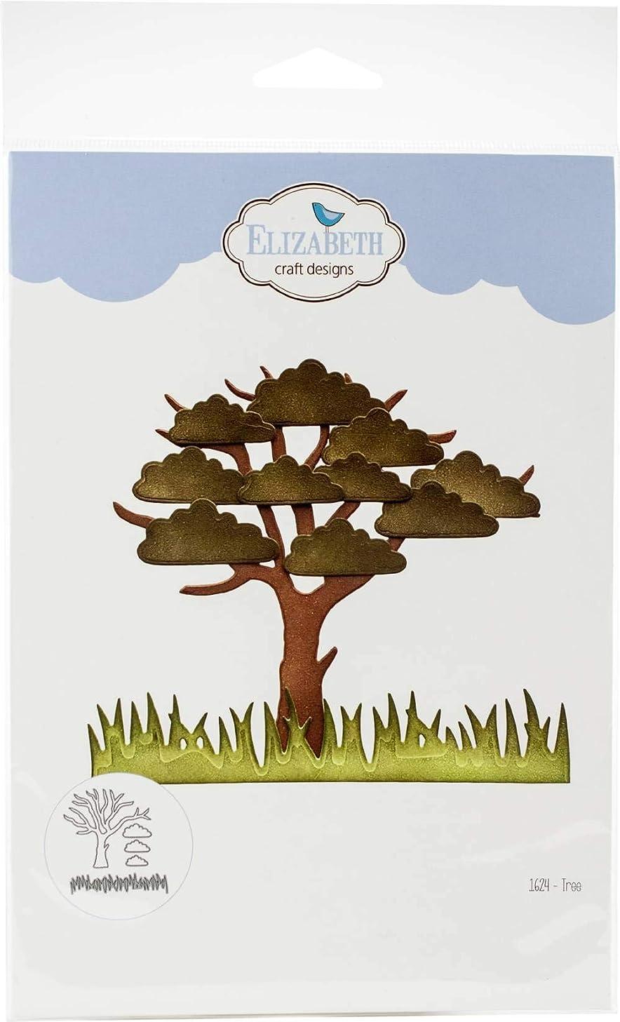 Elizabeth Craft 1624 Tree Craft Die