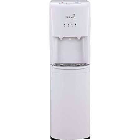Primo Compatible Energy Star Certified - Easy Bottom Loading Water Dispenser - For 3 or 5 Gallon Jugs - Instant Cold and Hot Water