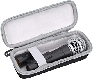 Aproca Hard Carry Travel Case For Shure SM58-LC Cardioid Dynamic Vocal Microphone