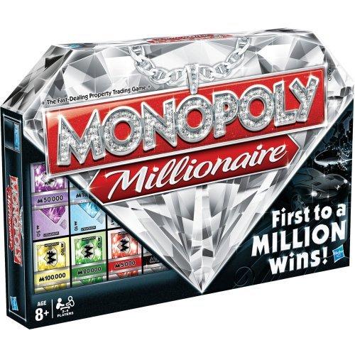 Monopoly Juegos en Familia Hasbro Millonario versión en inglés