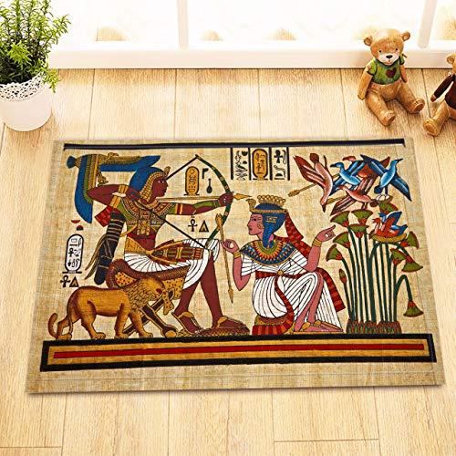 vrupi Alfombra Antideslizante Alfombra Puerta Reina egipcia papiro decoración del hogar Puerta...