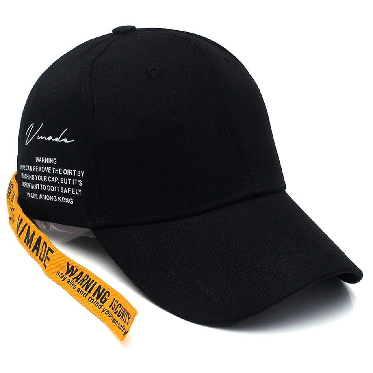 アウトドア腹部一般[セイヤインターナショナル] 帽子 韓国 韓流 男女兼用 ロングストラップ キャップ 野球帽 G