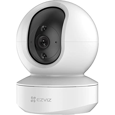 EZVIZ Security Camera Indoor WiFi 1080P, Baby Pet Monitor with Motion Detection, Smart Tracking, Smart Night Vision, 2-Way Audio, Works with Alexa(TY1)