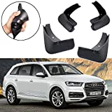 SPEEDLONG Car Mud Flaps Splash Guard Fender Mudguard Compatible with Audi Q7 2016 2017 2018 2019