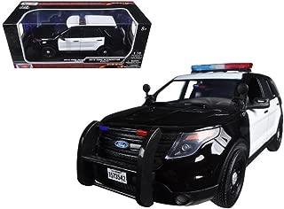 motormax 1/18 police car