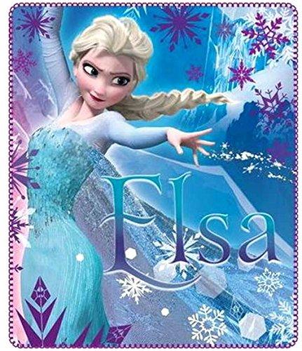 Disney Kuscheldecke 120x140 cm Frozen die Eiskönigin Snowflake völlig unverfroren Decke Fleecedecke Schmusedecke Tagesdecke Autokuscheldecke Elsa Anna Olaf Sven Kristoff von Arendelle kuschelweich
