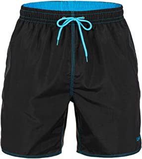 Zagano Men's Swimming Trunks Boardshorts with Drawstring Swimming Trunks Sports Shorts XXXL Black Made in EU - Black - XX-...