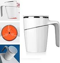 كوب كوب كوب ماء للقهوة وعصير الشاي سعة 473 مل (470 مل) كوب شفط مزود بفراغ مزدوج من الفولاذ المقاوم للصدأ