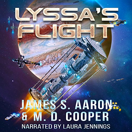 Lyssa's Flight audiobook cover art