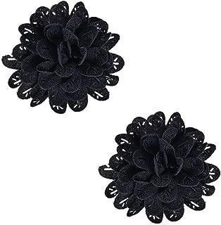 diy flower shoe clips