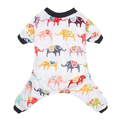 CuteBone Dog Pajamas Elephant Dog Apparel Dog Jumpsuit Pet Clothes Shirt  Puppy Pjs P03L-CA 1afdeba4f
